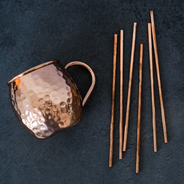 Pure Copper Straws