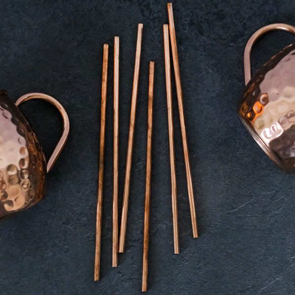 Pure Copper Drinking Straws