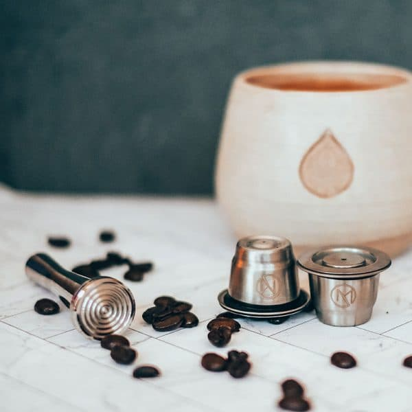 Reusable Stainless Steel Coffee Pods for Nespresso